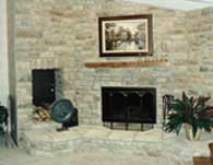 Fireplace and Room Addition